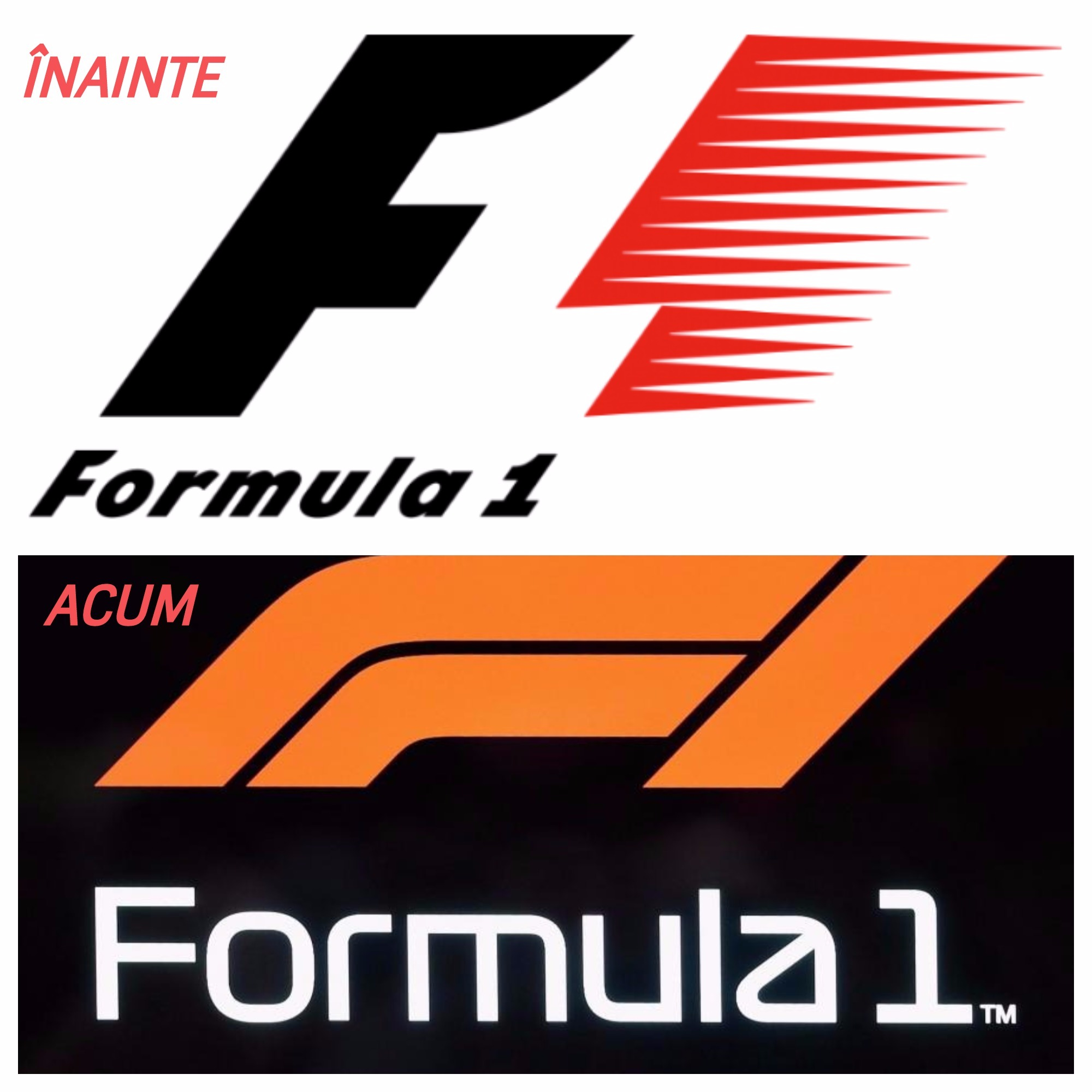 Formula 1 isi schimba logo-ul pentru prima data in 23 de ani