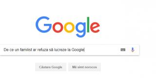 De ce un familist ar refuza sa lucreze la Google