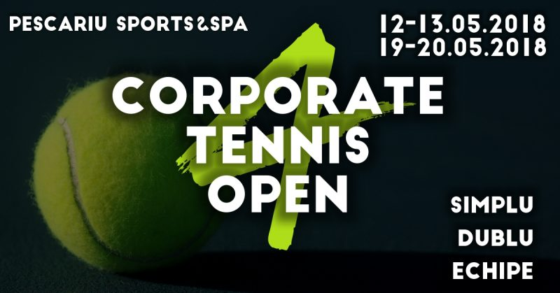 turneul de tenis Corporate Tennis Open
