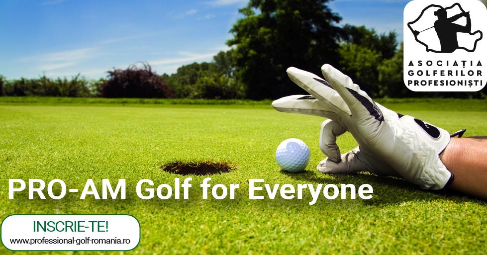 Pe terenul de golf e loc pentru toata lumea