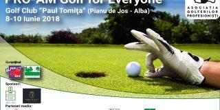 Terenul de la Pianu este o adevarata capodopera pentru golf.