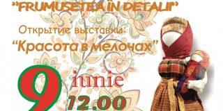 expozitia de costum traditional rusesc