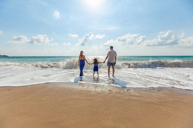 O vacanţă de vară la mare, la soare