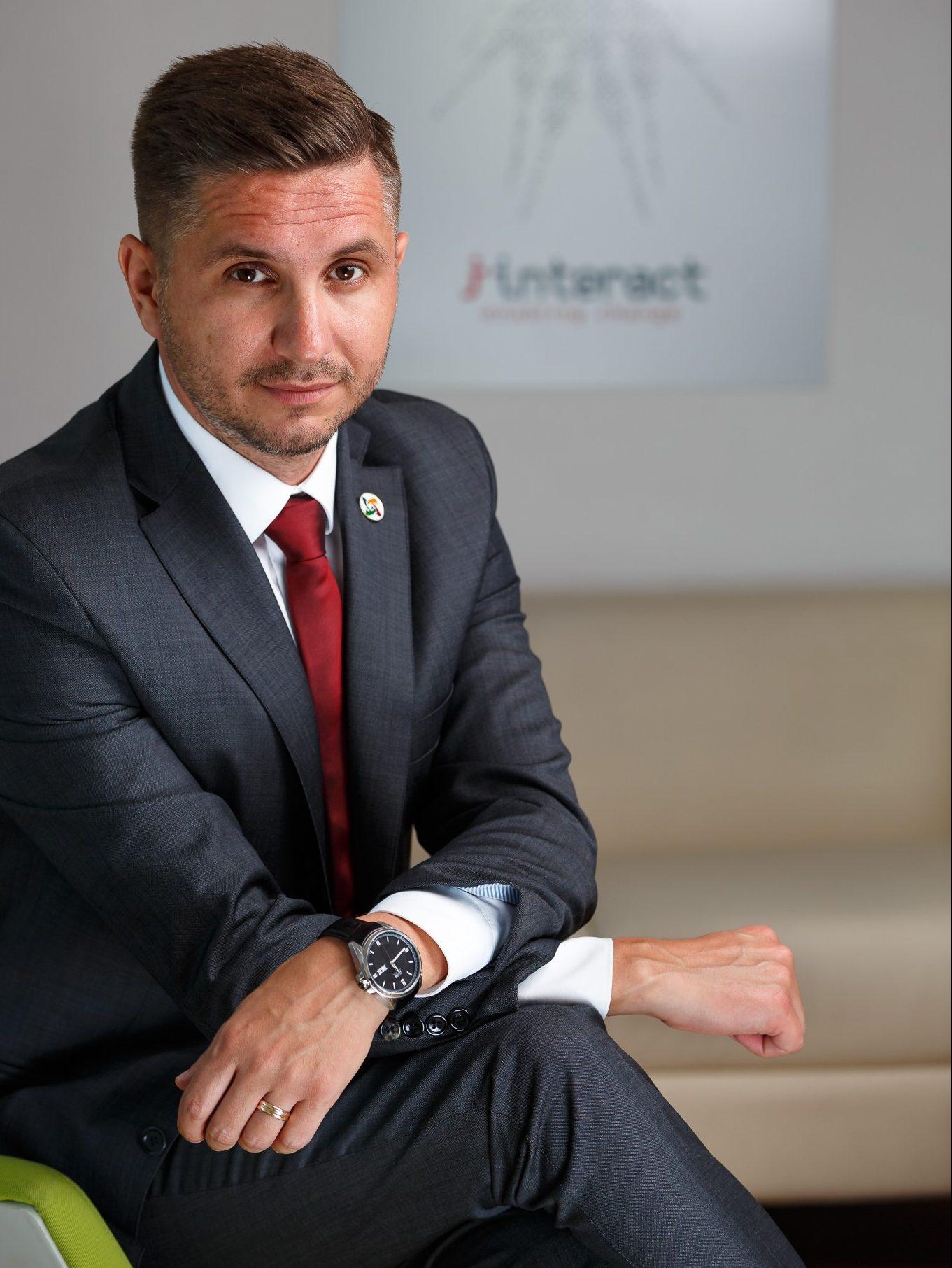 George Alexe a fost desemnat sa ocupe functia de Business Development Manager, in cadrul companiei Interact.