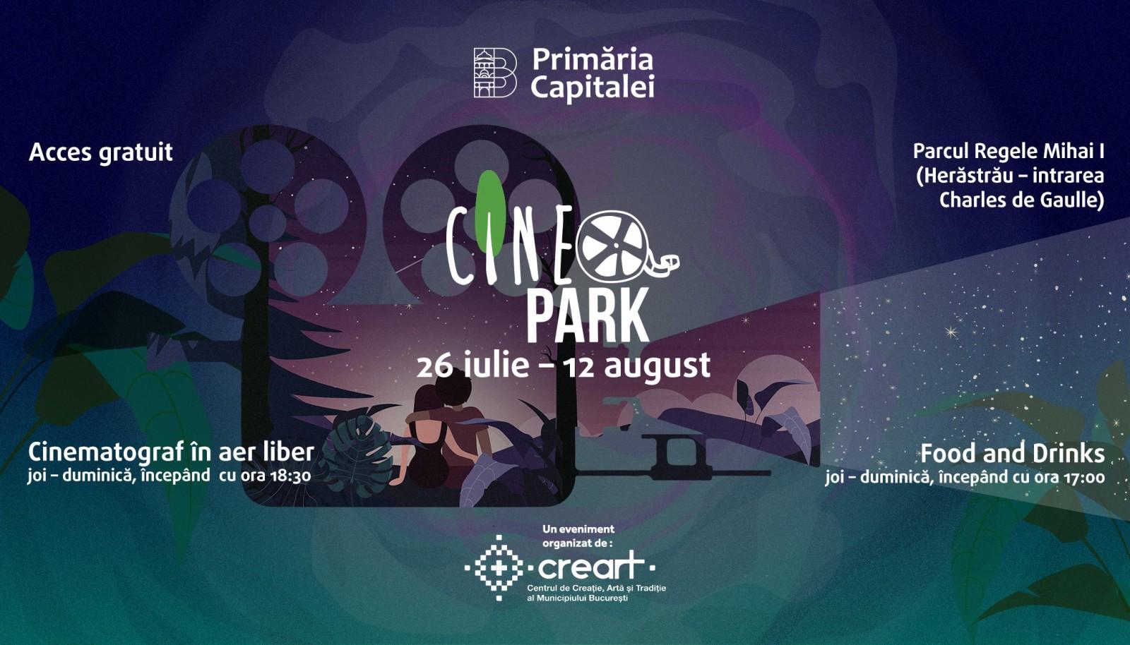 Vara, filmele se vad mai bine in aer liber, la CineParK.