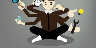 Studiile arata ca atunci cand stai langa o persoana care face mai multe activitati deodata, inteligenta ta scade cu 17%