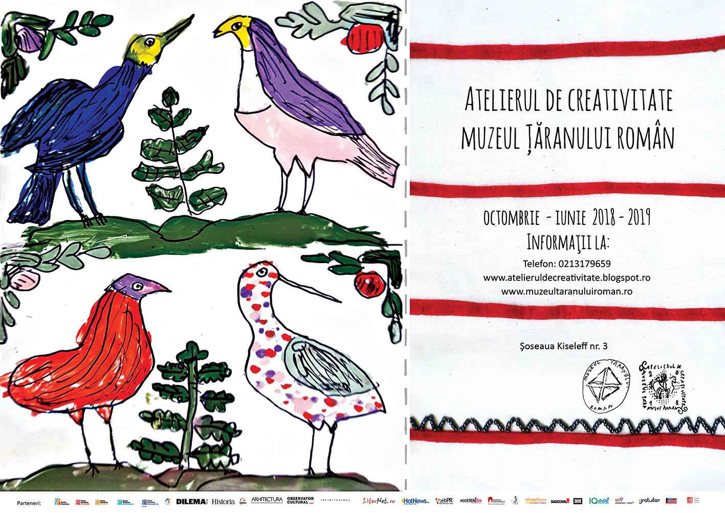 Ateliere de creativitate la Muzeul Taranului