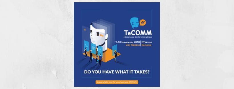 TeCOMM 2018 Cum cresti rata de conversie cu 20 in eCommerce 2