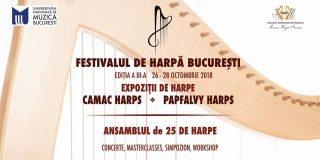 Universitatea Nationala de Muzica Bucuresti gazduieste a III-a editie a Festivalul de Harpa Bucuresti