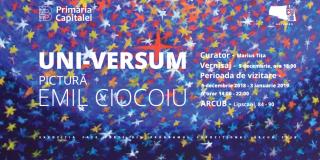 ARCUB prezinta expozitia de pictura UNI-VERSUM realizata de Emil Ciocoiu