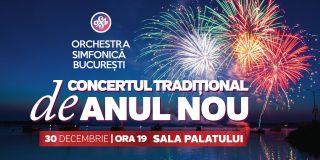 Orchestra Simfonica Bucuresti va invita la Concertul Traditional de Anul Nou 2019