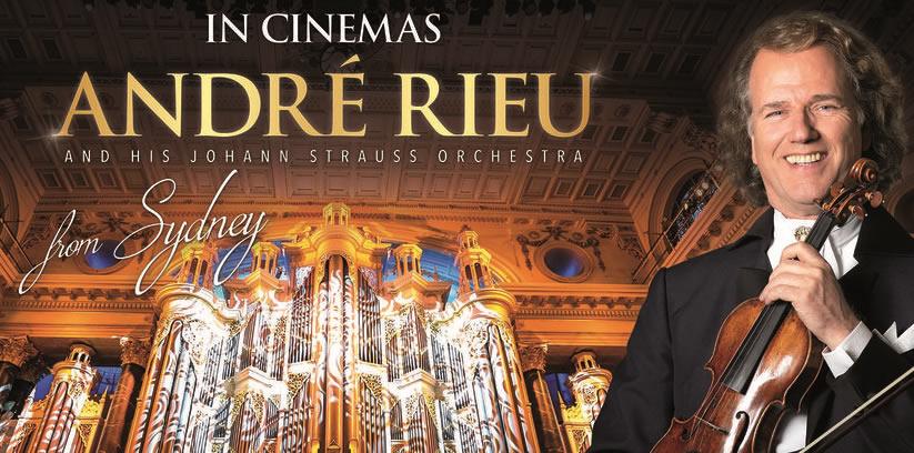 André Rieu ne incanta la inceput de an nou din Sidney