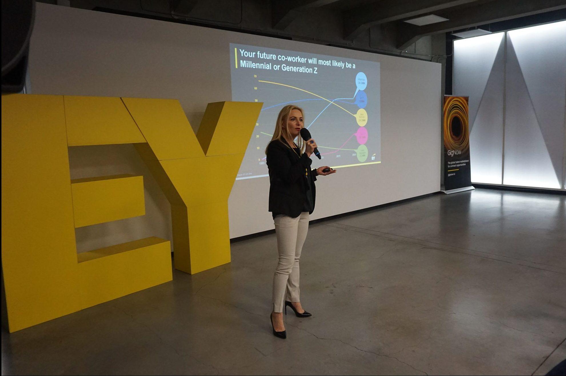 EY anunta lansarea platformei sale de angajare GigNow in Romania