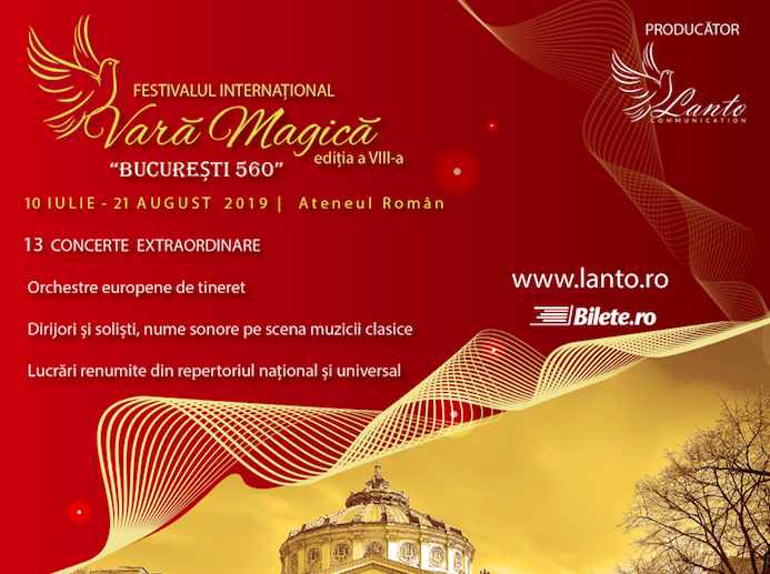 Incepe Festivalul international Vara Magica 2019