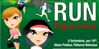 """Clean&Run"", cea mai mare campanie de plogging din Romania, se va desfasura in aceasta toamna in Padurea Baneasa"