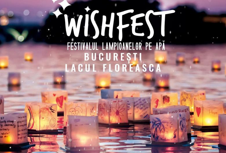 Wishfest, primul festival dedicat lampioanelor pe apa