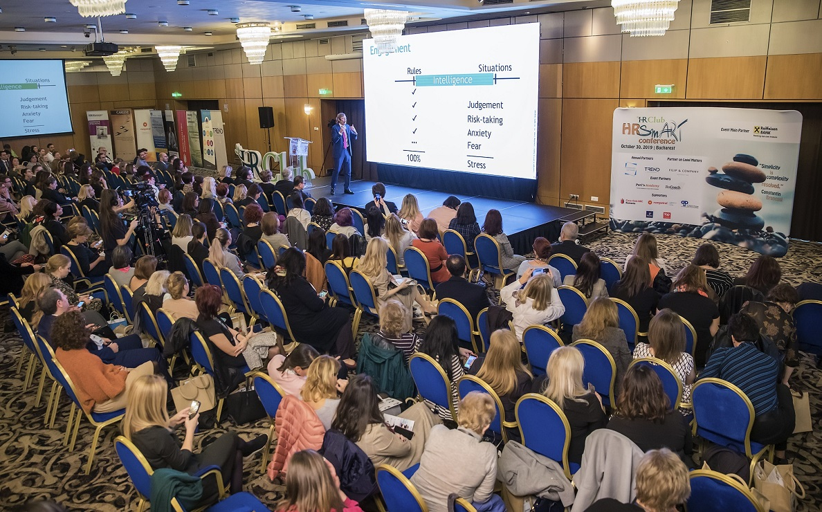 Peste 350 de profesionisti ai resurselor umane si manageri de companii au participat la a 15-a editie a Conferintei Nationale HR Club