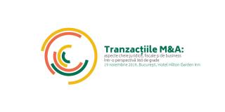 """NNDKP, cu sustinerea BusinessMark, organizeaza evenimentul """"Tranzactiile M&A"""""""