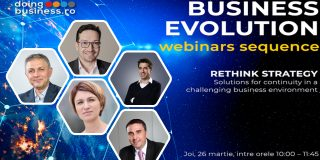 DoingBusiness.ro in parteneriat cu Microsoft Romania organizeaza webinar-ul Business Evolution: Rethink Strategy - Continuity, Challenges si Opportunities