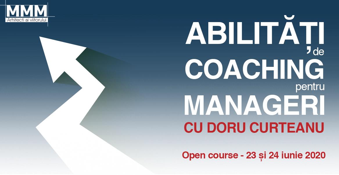 Un program practic si interactiv care antreneaza managerii pentru a putea purta conversatii de coaching