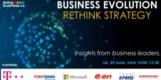 Rethink Strategy – Insights from Business Leaders. Un nou webinar marca Doingbusiness.ro din seria Business Evolution