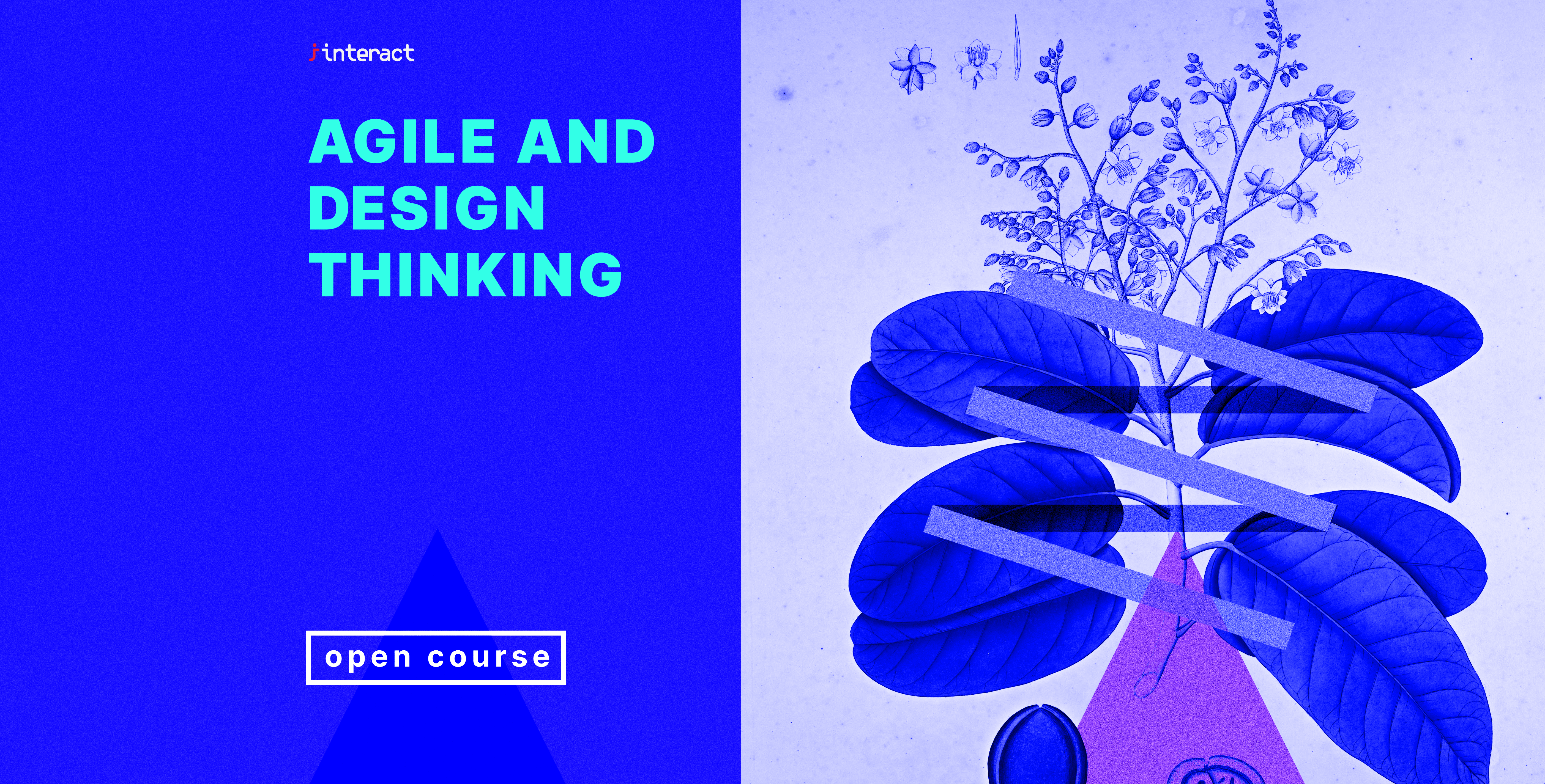 Interact will be holding an Agile and Design Thinking Online Open Course
