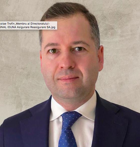 SIGNAL IDUNA il numeste pe Nicolae Trofin membru in Directoratul companiei