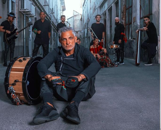 Concert Damian DrAghici & Brothers, In aer liber, la Arenele Romane din BucureSti