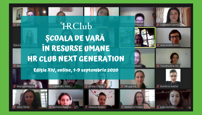 traditionala Scoala de Vara HR Club Next Generation